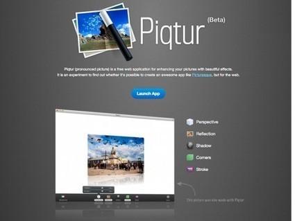 Piqtur, un service en ligne gratuit et minimaliste pour embellir une photo | Autour du Web | Retouches et effets photos en ligne | Scoop.it