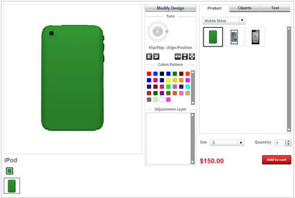 Online iPod Skin/Case/Cover Design Tool/software in India | T-shirt Design Software | Scoop.it