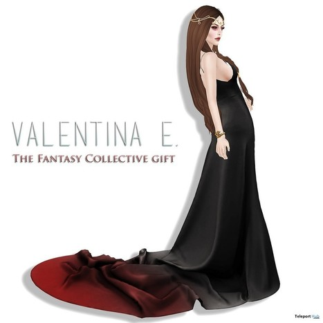 Long Black Dress The Fantasy Collective Group Gift by Valentine E. | Teleport Hub - Second Life Freebies | Second Life Freebies | Scoop.it