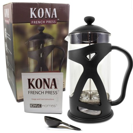 KONA French Press Coffee Maker Review | Top Rated Coffee Makers | Top Rated Coffee Makers | Best Coffee Maker Reviews | Scoop.it