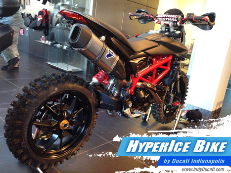 HyperIce Bike By Ducati Indianapolis | Ductalk Ducati News | Scoop.it