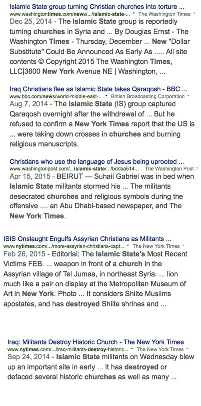 If #IS had burned down 4 Churches, it would have been Headline News | News in english | Scoop.it