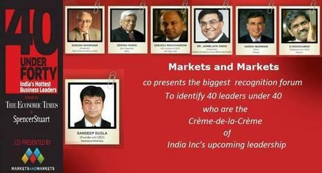 40 leaders under 40 | Marketsnmarkets | Scoop.it