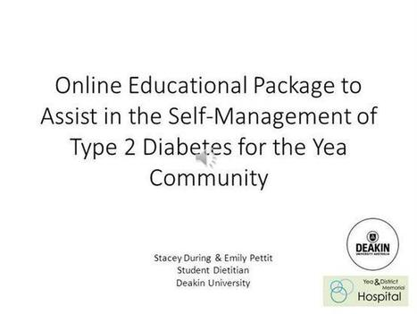 """Yea and District Memorial Hospital """"Diabetes Online Education Package"""" 
