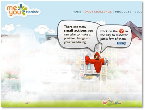 Creators of Daily Challenge - MeYou Health | How Game Mechanics can influence health | Scoop.it
