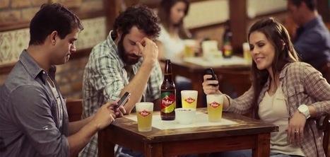 Une bouteille de bière qui brouille les ondes des Smartphones pour plus de convivialité | Marques & Innovation marketing | Scoop.it