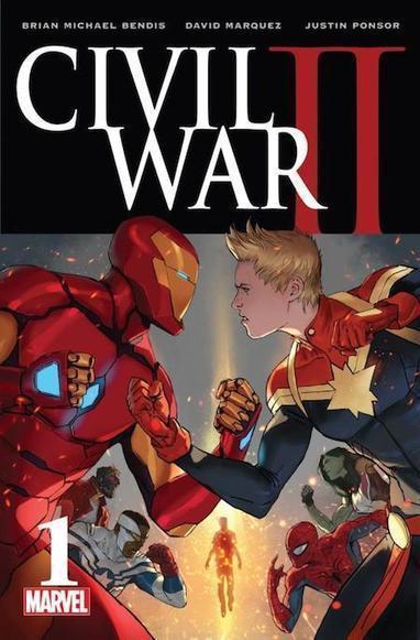 Civil War II : un reboot du pugilat super-héroïque, mort à la clef | Bibliothèque et Techno | Scoop.it