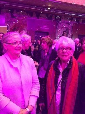 #Yvette Roudy, #Edith Cresson fidèles combattantes égalité homme-femme invitées par @RoyalSegolene par @LalandeBernard | Chatellerault, secouez-moi, secouez-moi! | Scoop.it