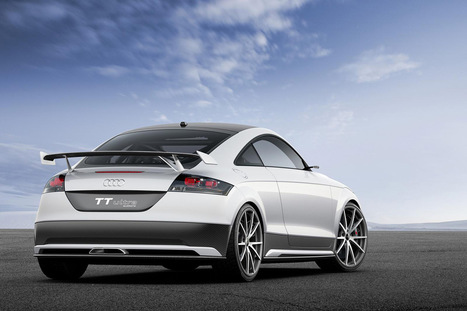 Audi's New TT Ultra Quattro Concept Car - Top Cars   Damn It's Awesome   Scoop.it