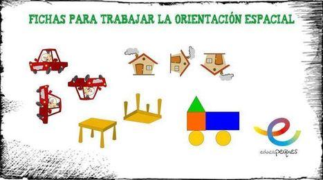 Fichas para trabajar la orientación espacial en infantil -   Aula TAC   Scoop.it