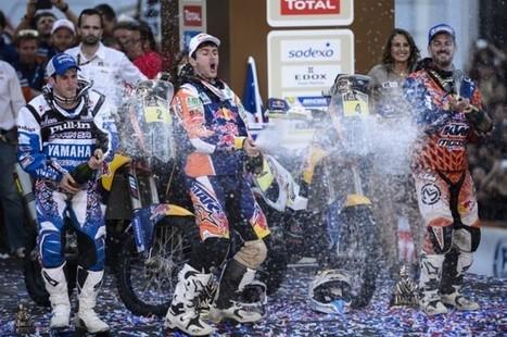 Silenia Gera: Dakar 2014: quarto trionfo per Marc Coma su KTM | La rivista del motociclista | Scoop.it