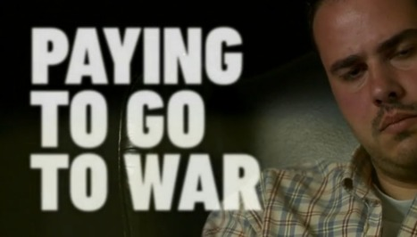 Pagar para ir a la guerra, la historia de un periodista freelance en España | La R-Evolución de ARMAK | Scoop.it