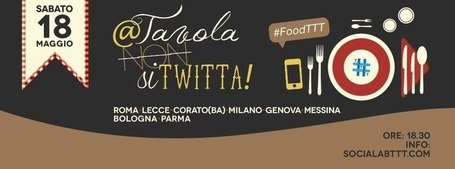 #FoodTTT: a tavola (non) si twitta, anche a #Parma! | Allicansee | Scoop.it