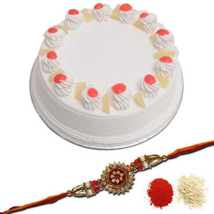 Rakhi with Cakes | Rakhi Gifts 4 Brothers | Scoop.it