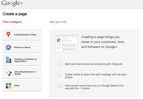 Google+ Page สำหรับธุรกิจมาแล้วจ้า!   Socialmer.com   สร้าง Personal Brand บนอินเตอร์เน็ต   Scoop.it