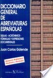 Diccionario general de abreviaturas españolas | 1001 Glossaries, dictionaries, resources | Scoop.it