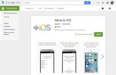 Apple estaría desarrollando una app para permitir la migración a Android desde iOS | Mobile Technology | Scoop.it