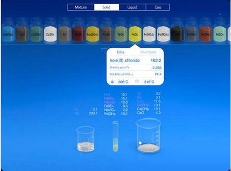 iPad Virtual Chemistry Lab Is Now Free (was $4,99) ~ Educational Technology and Mobile Learning | Ways to be Techie! | Scoop.it