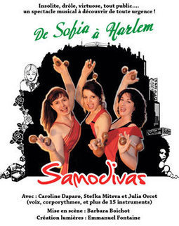 SAMODIVAS - DE SOFIA À HARLEM   - THEATRE DE L'ESSAION à PARIS 04 - Théâtre musical | arts | Scoop.it
