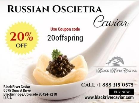 Russian Oscietra Caviar | Buy Caviar | Scoop.it