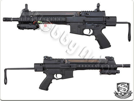 S&T ST-57 AEG with M231 Stock | Popular Airsoft | Airsoft Showoffs | Scoop.it