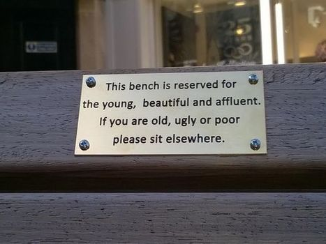 Rebellious plaques situated on benches in Chester | Archivance - Miscellanées | Scoop.it