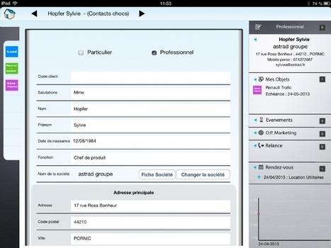 Kangourou CRM, un CRM mobile conçu par un pro de l'automobile | CRM - eCRM - social CRM : pratiques et outils en PME - PMI | Scoop.it
