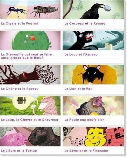 TICs en FLE: Les Fables de La Fontaine : regardez , écoutez ..lisez ! | Remue-méninges FLE | Scoop.it