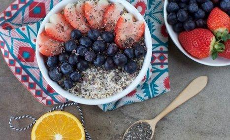 Easy Overnight Oats With Chia - Plant-Based Vegan Recipe | Vegan Food | Scoop.it