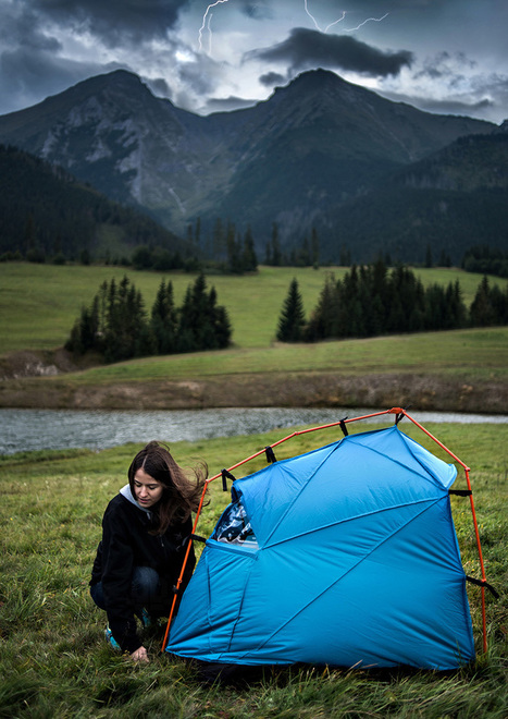 kama jania designs bolt tents for lightning strike protection | Mode de vie | Scoop.it