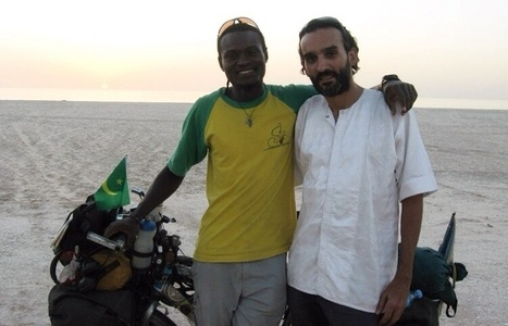 Parcours : Lelo l'écolo en vélo autour du monde, de passage en Mauritanie   mobilité en ville   Scoop.it