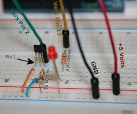 Arduino Notepad: Un senseur à Effet Hall parfait pour Arduino | Arduino, Processing | Scoop.it