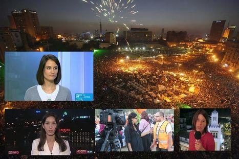 Place Tahrir, terrain hostile pour les femmes journalistes | Les médias face à leur destin | Scoop.it