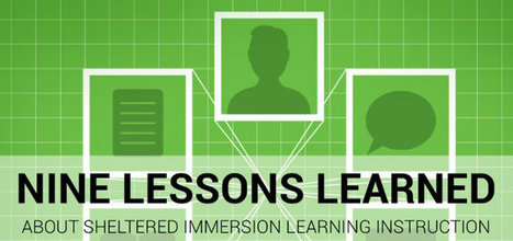 Nine Lessons Learned During ELL Immersion   second and foreign language education   Scoop.it