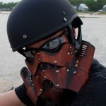 Stormtrooper Leather Motorcycle Mask: Not the Helmet You're Looking For | All Geeks | Scoop.it