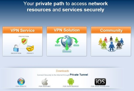 OpenVPN - Open Source VPN | 21st Century Tools for Teaching-People and Learners | Scoop.it