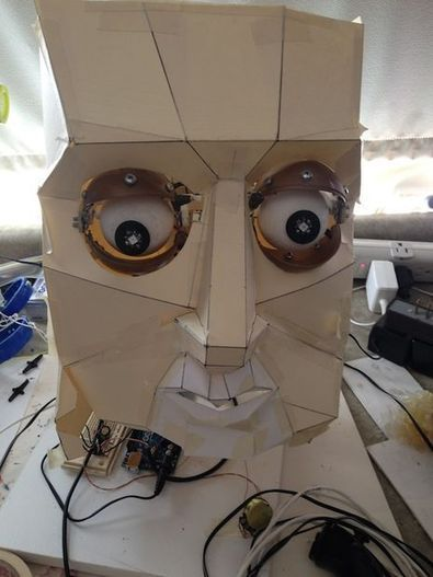 Animatronic Eyes and Wii Nunchuck Part 2 using Arduino | Physical Computing | Scoop.it