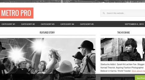 Metro Pro - Modern Magazine Theme | Premium WordPress Themes | Scoop.it