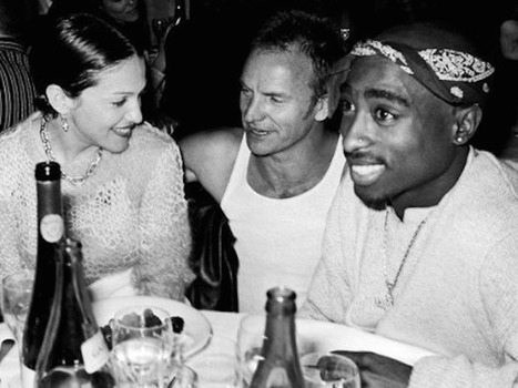 "Madonna Clears Up Those Old 2Pac Dating Rumors: ""I Was Feeling Very Gangsta"" 