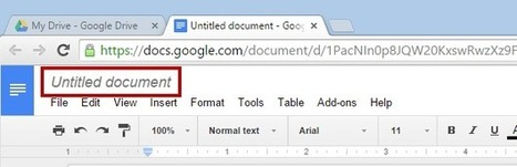 Simpler way of renaming files in Google Editors | Moodle and Web 2.0 | Scoop.it