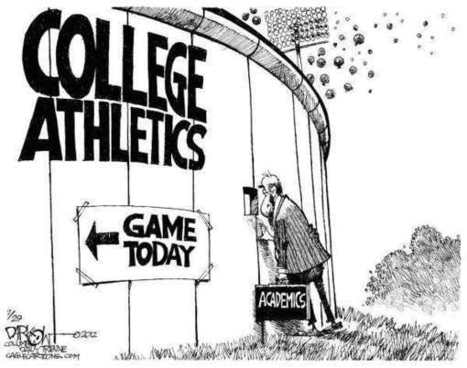 Losing Focus: Institutions spending more on Sports than on Academics | Online Tutoring | Scoop.it