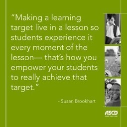 The Lowdown on Learning Targets | leading and learning | Scoop.it
