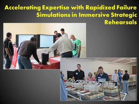 Accelerate Expertise with Rapidized Failure Simulation in Compressed Time: Interview with Dr. Lia DiBello | Personal Resonance © - Accelerating Time-to-Expertise | Scoop.it