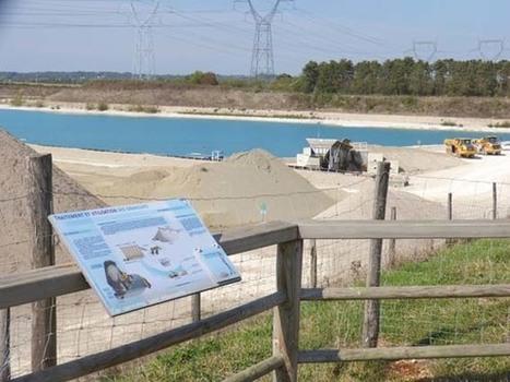 Une réhabilitation écolo pour les carrières Granulats Vicat   L'écologie politique dans l'Ain   Scoop.it