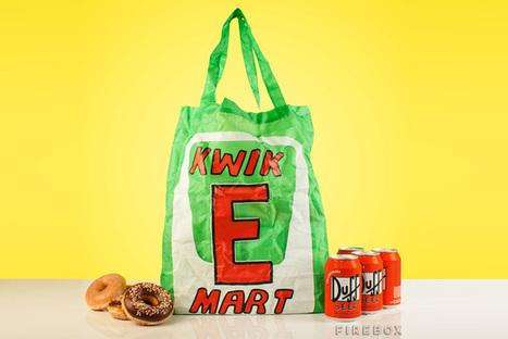 Kwik-E-Mart Reusable Bag 'The Simpsons' Convenience Store | Eco Action Heroes | Scoop.it