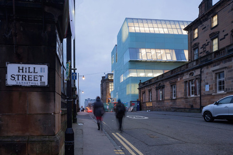 Steven Holl discusses reid building at Glasgow school of art - designboom | architecture & design magazine | The Architecture of the City | Scoop.it