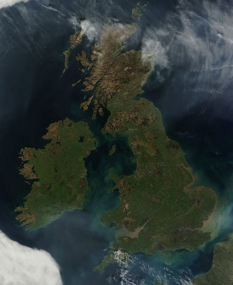 NASA MODIS Image of the Day: March 28, 2012 - Great Britain and Ireland | SpaceRef - Your Space Reference | Remote Sensing News | Scoop.it