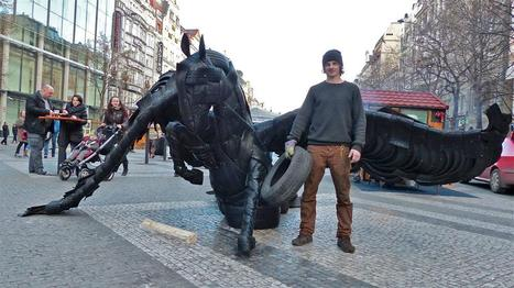 Ondřej Hudec : In Honor of Euromaidan | Art Installations, Sculpture | Scoop.it