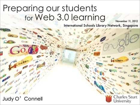 Preparing our students for Web 3.0 learning | T... | inspiring library tools 2 | Scoop.it