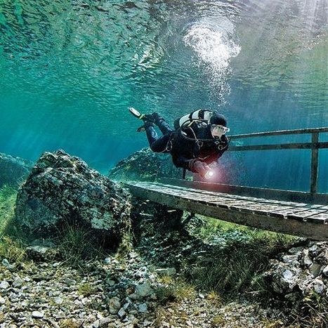 Ever tried... diving in Snowmelt, the Green Lake, Austria? | Let's Go with Ryanair - The european travel forum | DiverSync | Scoop.it